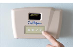 Ecran de contrôle Culligan