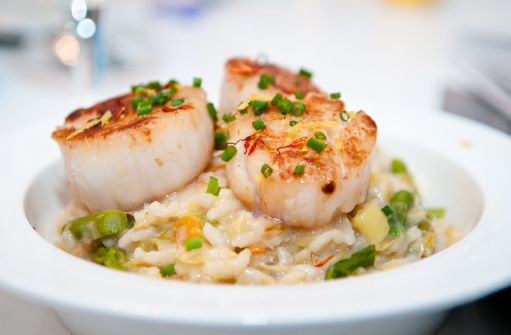 Risotto aux Saint-Jacques / Source : Gettyimages